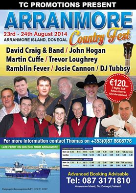 TC Promotions Arranmore Country Festival